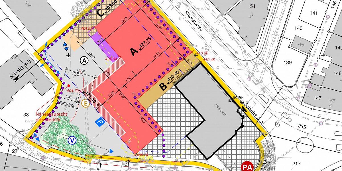 Kombination Gestaltungsplan Quartierplan