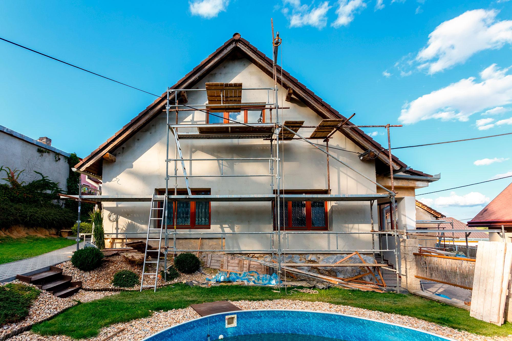 Haus im Umbau eines Hauses. Ist für die vorgesehenen Massnahmen eine Baubewilligung erforderlich?